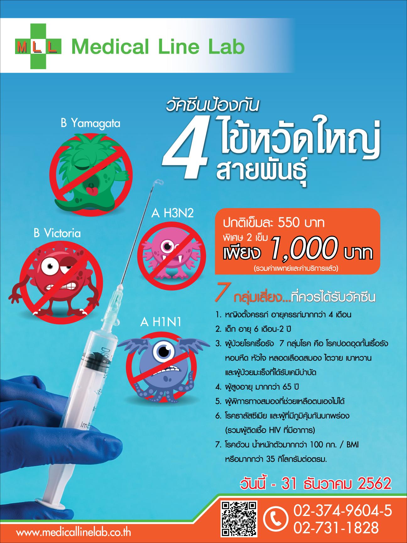 วัคซีนป้องกันไข้หวัดใหญ่