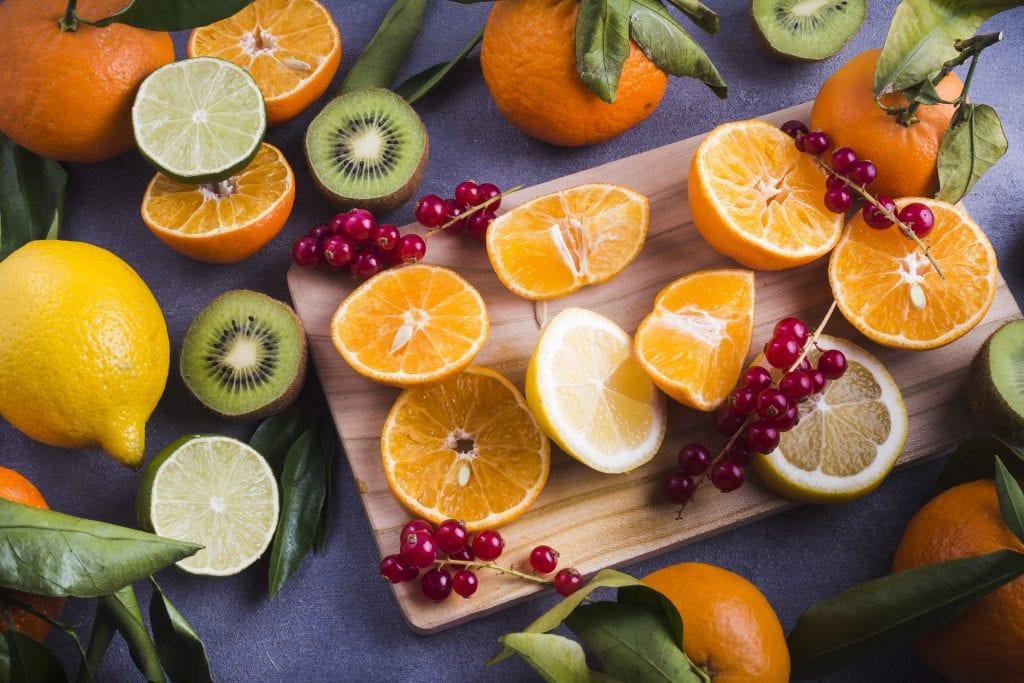 high vitamin C fruit