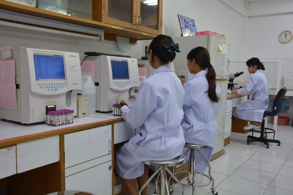 ห้องปฏิบัติการทางการแพทย์