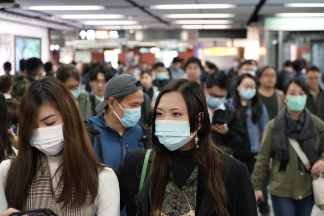 people wear mask